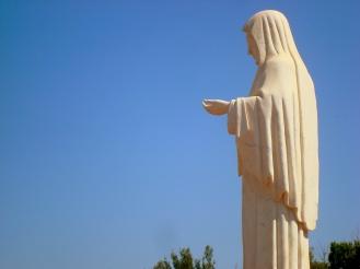 La imagen de la Virgen blanca - Foto: willyortea.picture