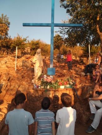 La Cruz Azul - Podbrdo - Foto: willyortea.picture