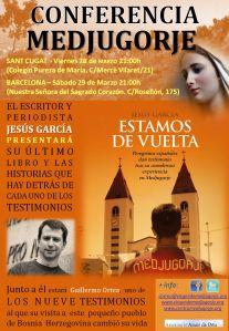 Cartel conferencia Jesus Garcia